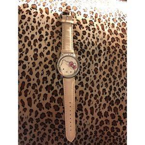 Rhinestone Hello Kitty Watch